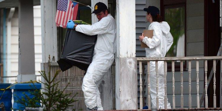 Investigators remove evidence