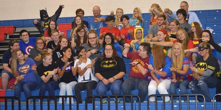 Polk County High super heroes