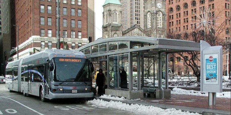 Cleveland bus system