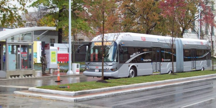 Cleveland buses